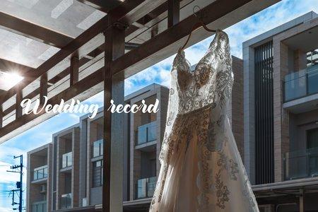 『婚禮紀錄』 💐志遠&宜芬結婚感恩禮拜