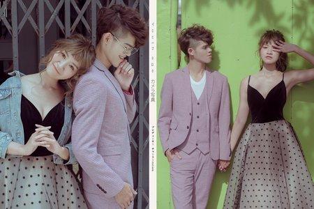 【簡單愛】-街頭婚紗