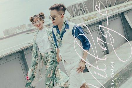 【駁二】-高雄街頭婚紗
