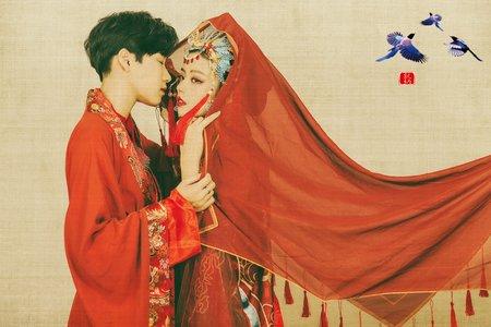 【中西式婚紗】