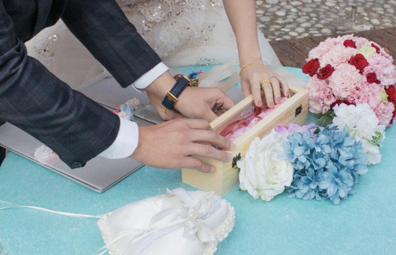 西式證婚作品