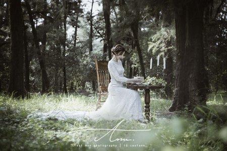 自助婚紗攝影|美式婚紗法式古典個人寫真