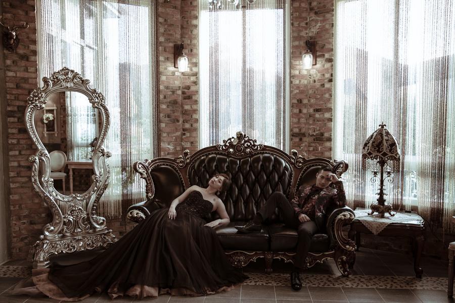 風華絕色 § 完美婚事-婚紗攝影,化妝師子瑄老師化妝很棒!非常美❤️ 攝影師王里老師非常專業
