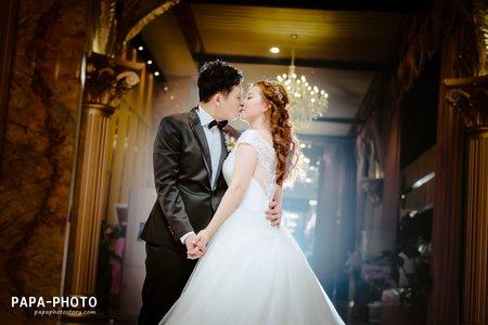 PAPA-PHOTO婚攝團隊/Eric+Iris 婚攝新店彭園婚攝趴趴/彭園新店婚攝