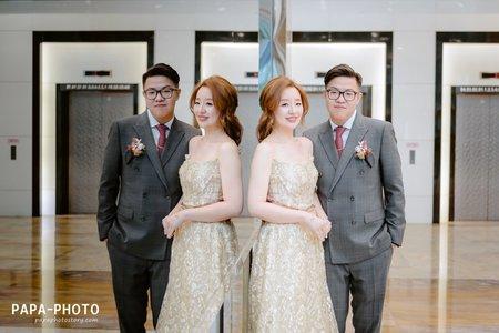 榮+容 婚攝新店彭園婚攝趴趴/PAPA-PHOTO桃園婚攝團隊