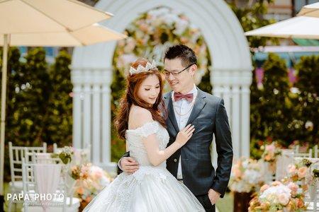 PAPA-PHOTO婚攝團隊/為紳+詩潔 婚攝青青格麗絲婚攝趴趴/青青婚攝桃園婚禮紀錄