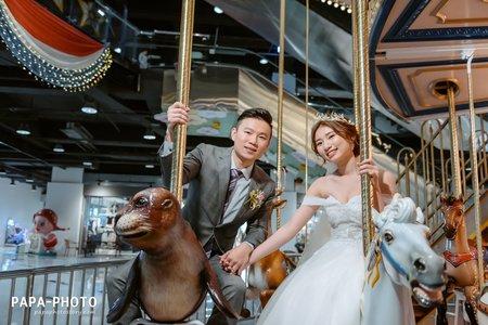 婚攝尚順君樂婚攝趴趴/尚順婚攝星輝廳/PAPA-PHOTO桃園婚攝團隊/尚順君樂飯店 Ming+Shin