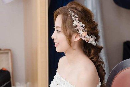 日系馬尾/韓系盤髮/浪漫編髮/甜美公主造型