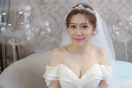 韓系妝容/淡雅清新/舒晴婚禮