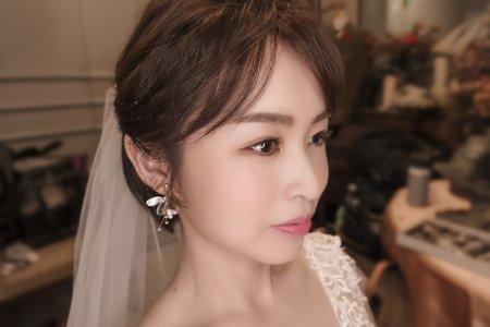 婚禮現場/短髮造型/韓式簡約風