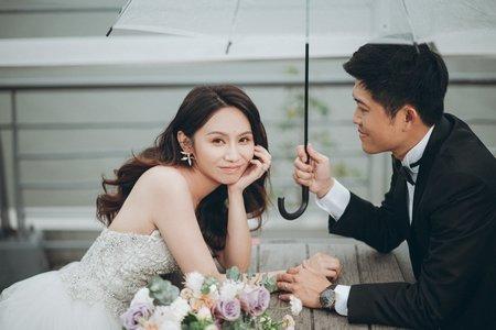 自主婚紗/白紗造型//韓式婚紗
