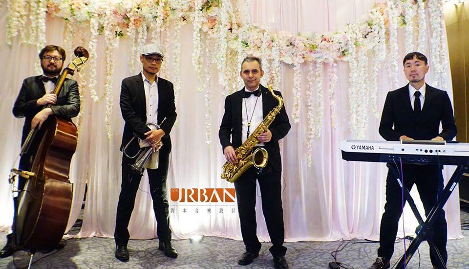 爵士六重奏組合 (3) - 賀本音樂設計/美式主持/互動式音樂表演《結婚吧》