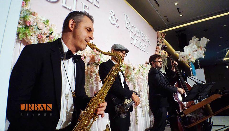 爵士六重奏組合 (5) - 賀本音樂設計/美式主持/互動式音樂表演《結婚吧》