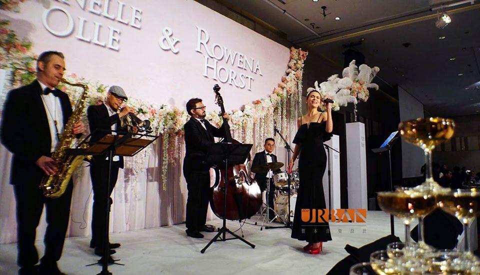 爵士六重奏組合 - 賀本音樂設計/美式主持/互動式音樂表演《結婚吧》