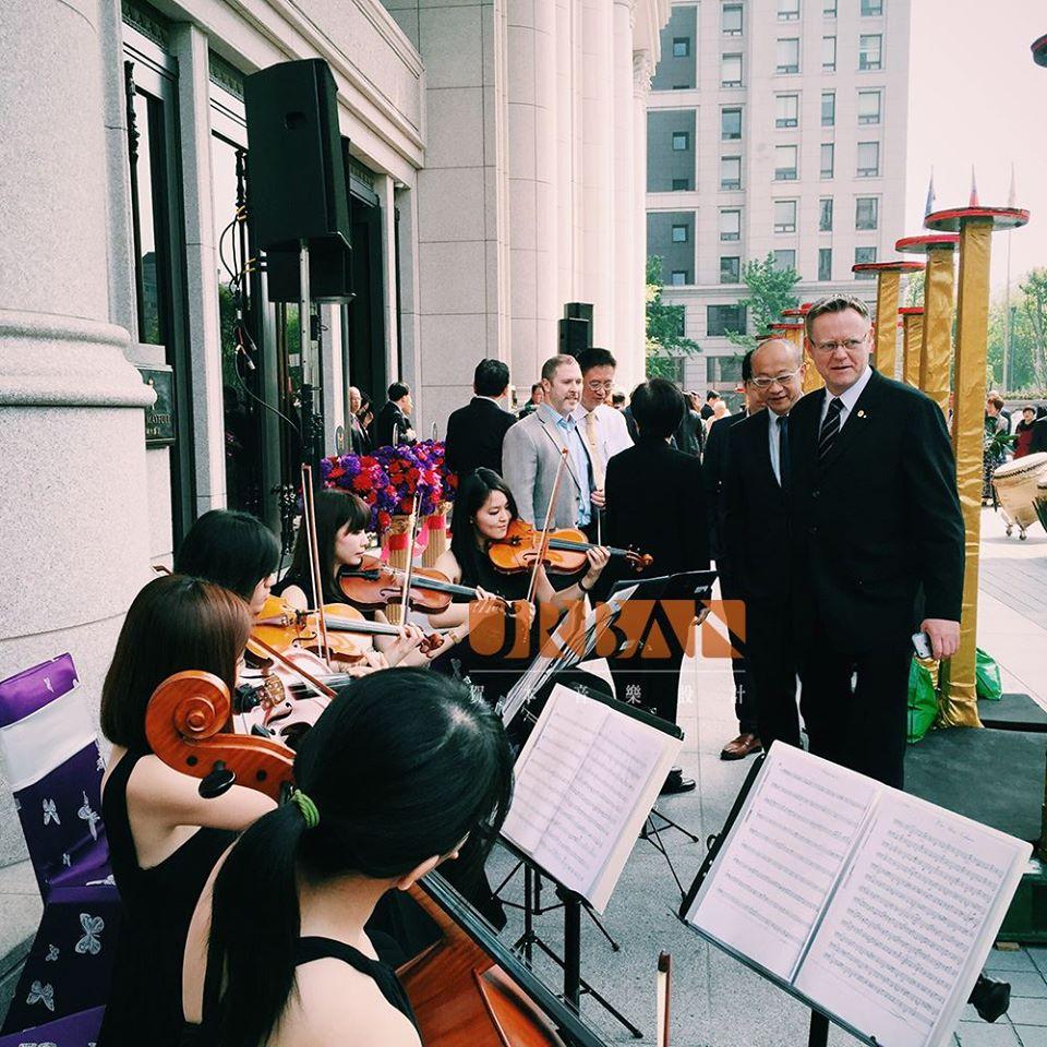 美福大飯店茶會迎賓2 - 賀本音樂設計/美式主持/互動式音樂表演《結婚吧》