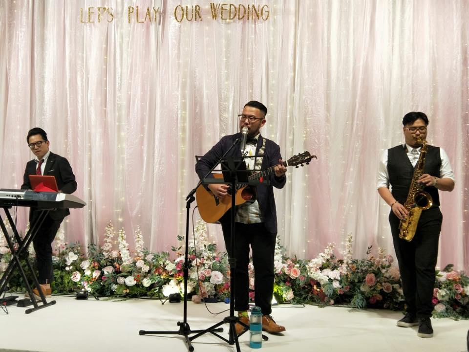 《玩美春日.幸福婚禮》4 - 賀本音樂設計/美式主持/互動式音樂表演《結婚吧》