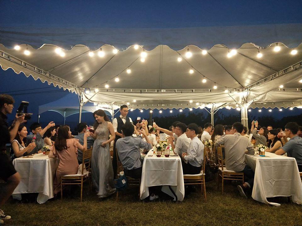美國度假村戶外婚禮 - 賀本音樂設計/美式主持/互動式音樂表演《結婚吧》