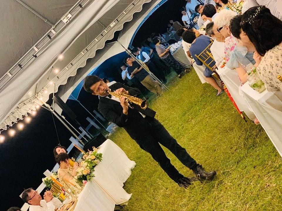 美國度假村戶外婚禮2 - 賀本音樂設計/美式主持/互動式音樂表演《結婚吧》