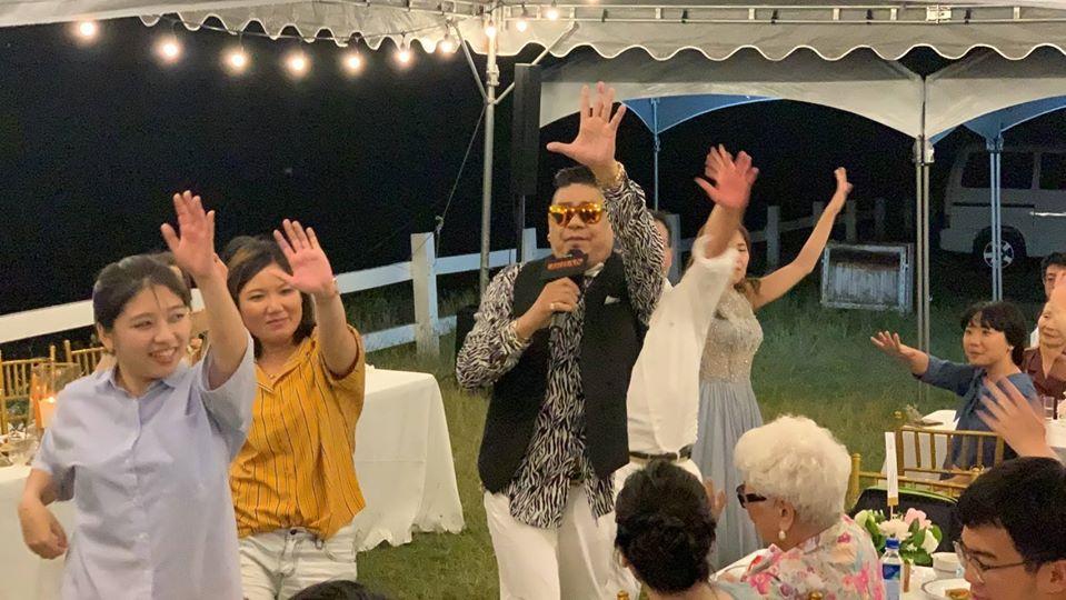 美國度假村戶外婚禮5 - 賀本音樂設計/美式主持/互動式音樂表演《結婚吧》