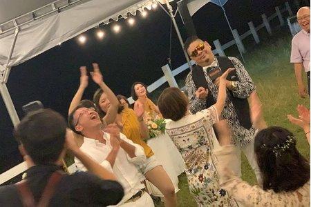 美國度假村戶外婚禮