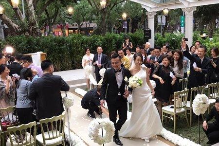 美式婚禮戶外派對
