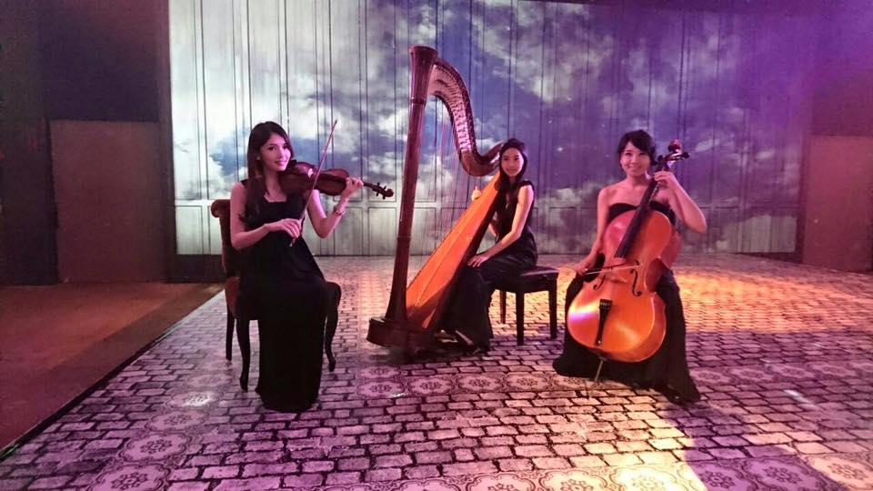 古典優雅三重奏組合1 - 賀本音樂設計/美式主持/互動式音樂表演《結婚吧》