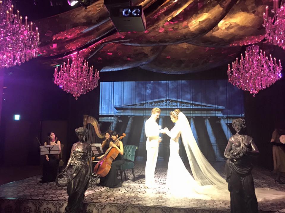 場地氛圍6 - 賀本音樂設計/美式主持/互動式音樂表演《結婚吧》