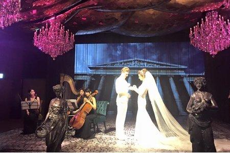 婚禮體驗日優雅古典三重奏