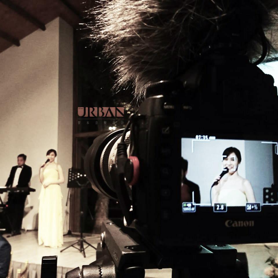 美式風格戶外派對婚禮樂團1 - 賀本音樂設計/美式主持/互動式音樂表演《結婚吧》