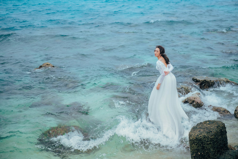 完美婚紗拍攝方案(含宴客服)作品