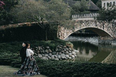 新社古堡婚紗