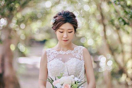 【婚紗造型】自然氣質