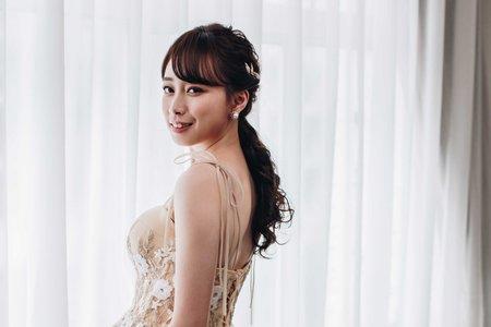 【婚紗造型】細緻柔美