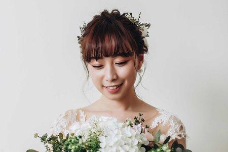 【婚紗造型】韓系甜美