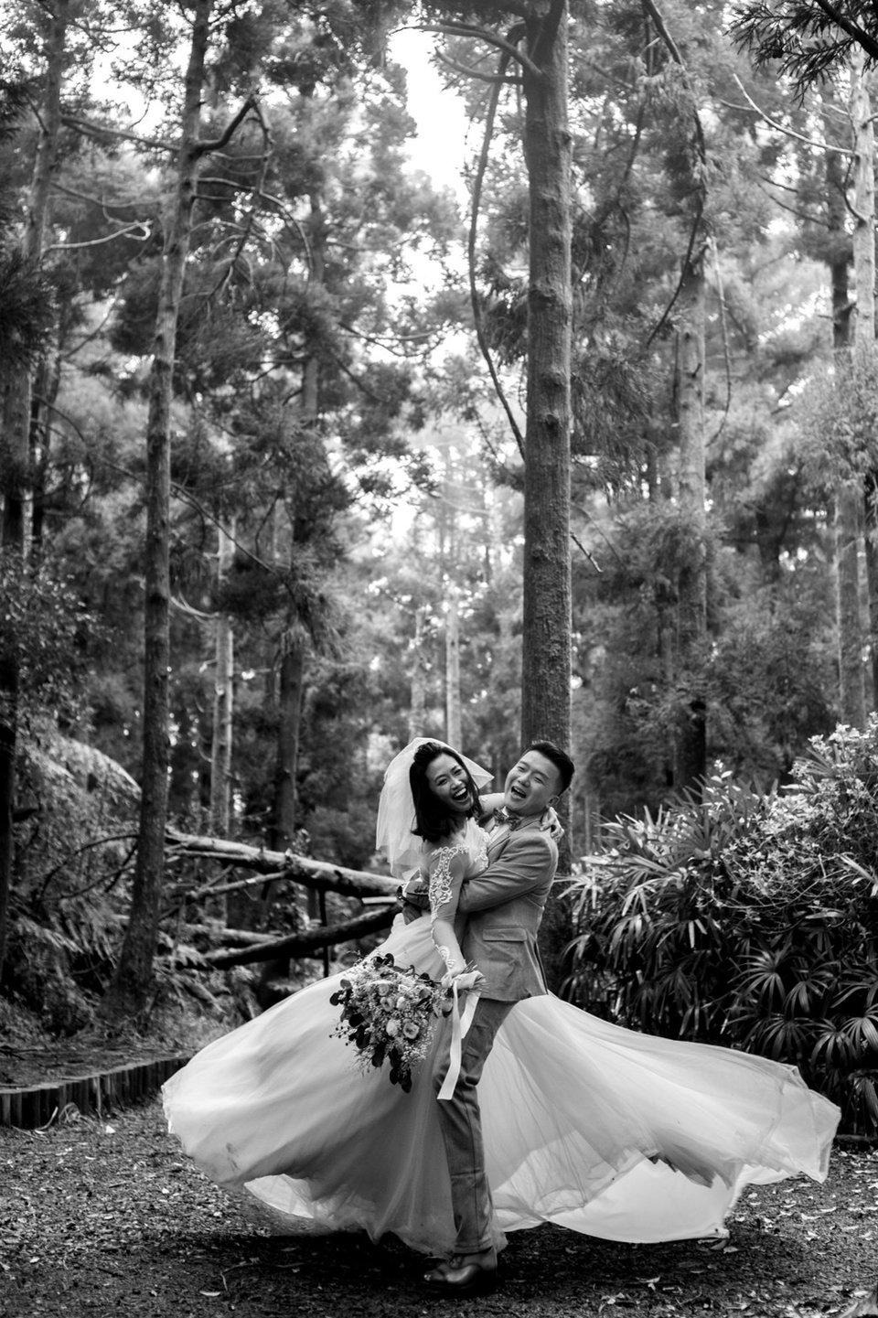 麗舍時尚婚紗,被壞天氣延期三次的外拍婚紗,終於拍成了!