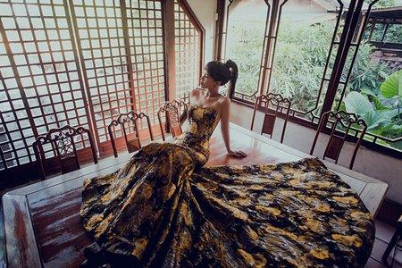 中式復古婚紗 古典婚紗│Nordic 那一刻北歐婚紗 台中