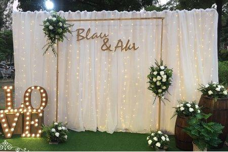 星空燈布幔系列~超級美美的露天婚禮~......好浪漫~~~