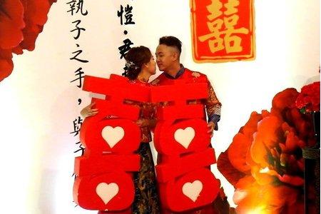中國風中式婚禮~晚宴在流水席也能這麼美~