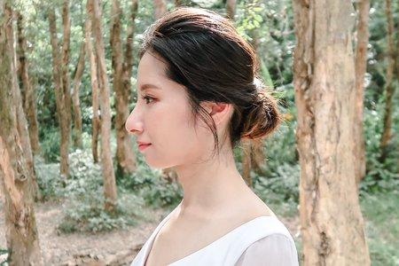 Pre-Wedding 妝髮側拍