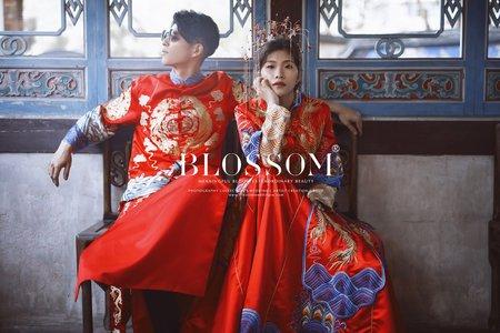 溫暖的臉龐(秀禾服)/水花婚紗攝影工作室 Blossom Photoart Studio