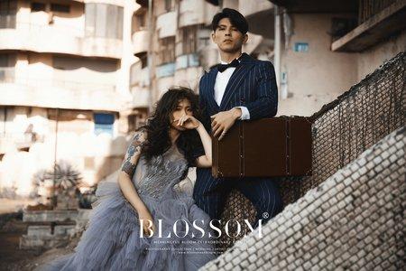 琥珀淡淡老靈魂(雜誌婚紗)/水花婚紗攝影工作室 Blossom Photoart Studio