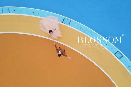 奔跑吧(自然笑容空拍婚紗)/水花婚紗攝影工作室 Blossom Photoart Studio