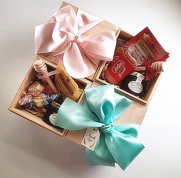木盒喝茶禮 婚禮小物作品