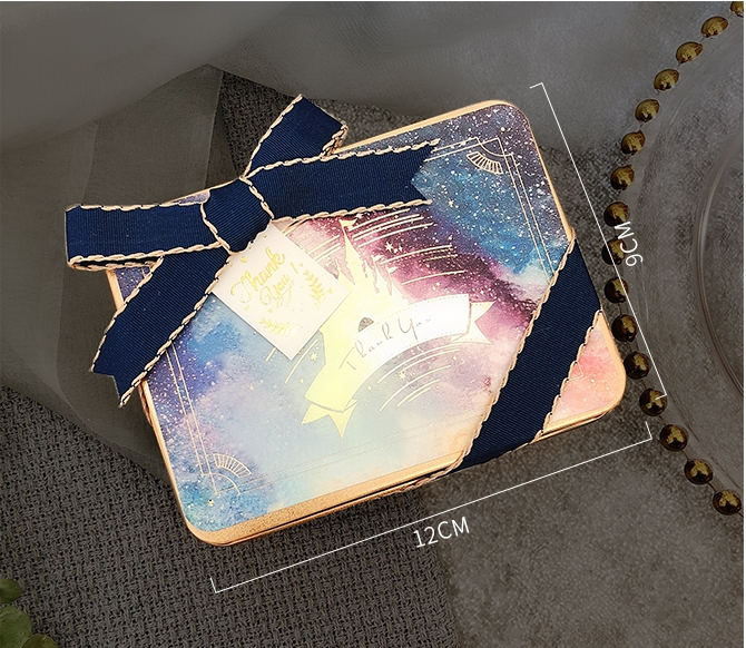 馬口鐵盒喝茶禮 婚禮小物作品