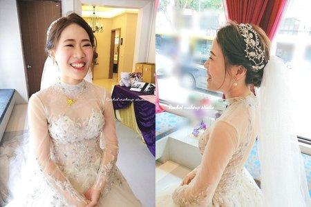 台中寶麗金婚宴會館白紗造型