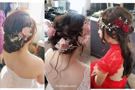 |婚宴現場精緻編髮|
