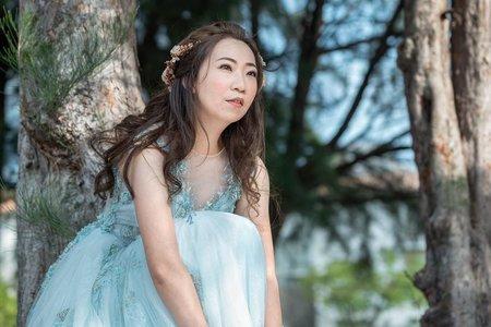自助婚紗-白鷺灣浪漫韓風造型