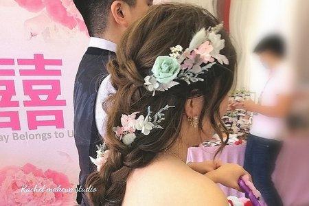 婚宴現場-精緻編髮造型