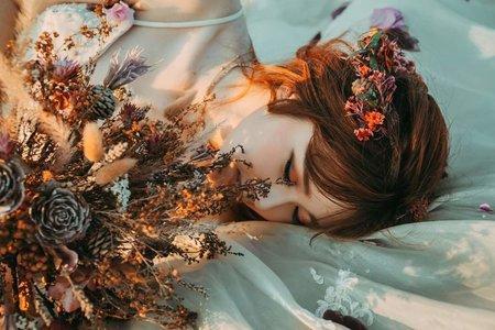 韓式風格/華麗復古/乾燥玫瑰婚紗