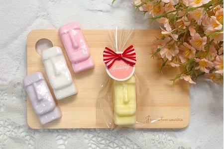 ✨婚禮小物 摩艾 手工皂